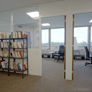 Biliothèque et bureaux